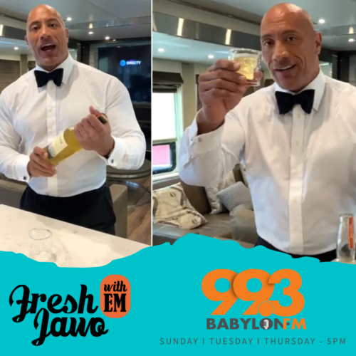 Fresh Jawo with EM – The Rock is the most followed American on Instagram !
