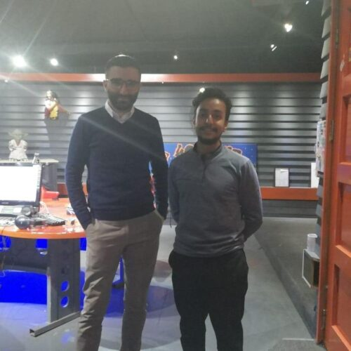 La French Touch – Dilan with NGO worker Zakaria from Melun