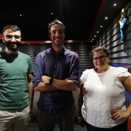 La French Touch – Dilan and Miriam with Romain the archivist