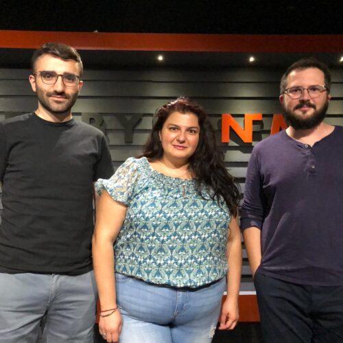 La French Touch – Dilan and Miriam with Samuel on tour in Mesopotamia