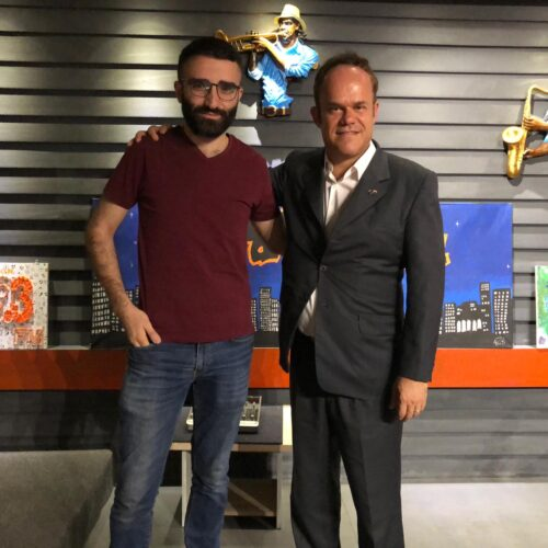 La French Touch – Dilan with Vincent-Guillaume Poupeau the European Union's Head of Office in Erbil