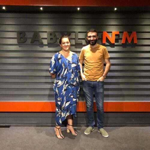 La French Touch – Dilan with Agnes for the last updates about the French Institute