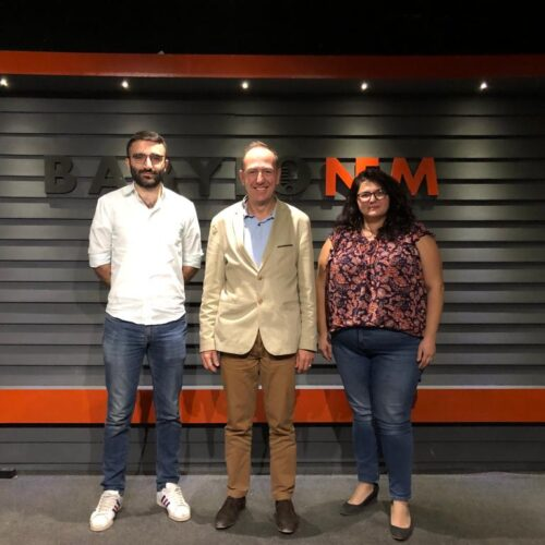 La French Touch – Dilan and Miriam with Fabrice from L'Œuvre d'Orient